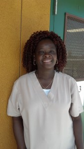 Florence Edwards earned a GED and nursing assistant certificate and is pursuing a degree in nursing. (click to enlarge)
